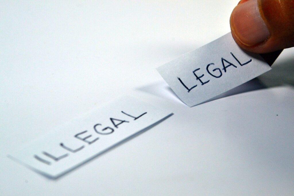 違法・合法